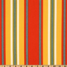 Swavelle/Mill Creek Indoor/Outdoor Trudy Stripe Geranium Fabric