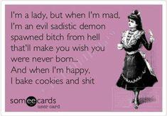 Cookies and shit. Haha