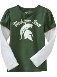 MSU toddler tee--I actually got this for Avery at Old Navy...so cute!