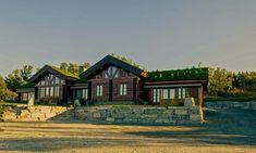 Et lite utvalg av våre 500 bygde hytter Log Homes, Wyoming, Sweet Home, Mountains, Mansions, Country, House Styles, Life, Cabins