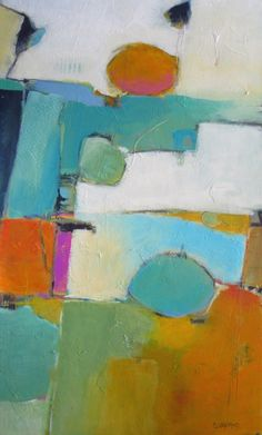 """""""On Top of the World - Abstract"""" gazianoart.com Dorothy Gaziano (Dotty) Contemporary and Abstract Painting"""