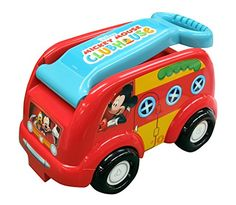 Kids' Pull-Along Wagons - Mickey Mouse Club House Camping Fun Roll N Go Wagon RideOn * Details can be found by clicking on the image.