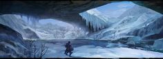 snowy mountains concept art - Google Search
