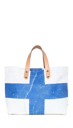 Black Point Mercantile X-Ray Signal Flag Tote