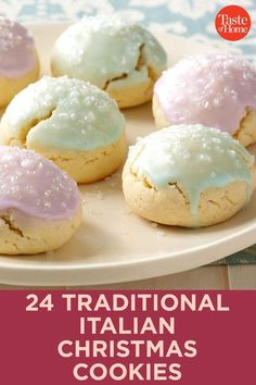 24 Traditional Italian Christmas Cookies 24 Traditional Italian Christmas Cookies<br> Indulge in the sweetness of the season with these Italian-inspired Christmas cookies. Best Italian Cookie Recipe, Italian Christmas Cookie Recipes, Italian Lemon Cookies, Chocolate Christmas Cookies, Gluten Free Christmas Cookies, Christmas Baking, Italian Recipes, Italian Christmas Traditions, Chocolate Cookies