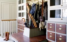With autumn fast approaching, we reveal some handy boot room design ideas.