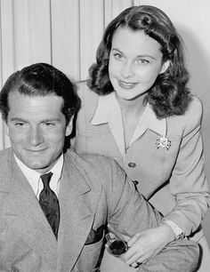 Vivien Leigh and Laurence Olivier's return to Hollywood after their honeymoon, 1940