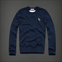 Super beautiful Abercrombie sweater/sweatshirt thing for men. I totally love the color!!! Sometimes guys need to wear sweaters<3<3