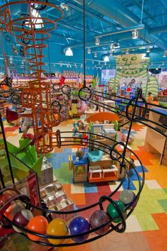Looking for a fun toy store? Check out Creative Kidstuff Toy Stores located in the St. Creative Kidstuff carries classic developmental and educational toys that are creative, innovative, & imaginative. Play Spaces, Kid Spaces, Maker Fun Factory Vbs, Kids Zone, Indoor Playground, Toys Shop, Toy Store, Retail Design, Play Houses