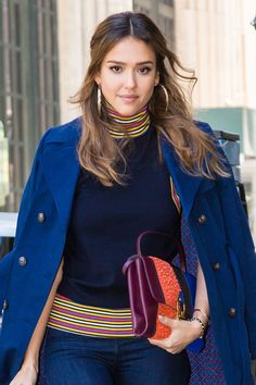 Jessica Alba Delivers 4 Hair Quick-Changes in a Single Day at Fashion Week