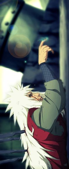 How many fans heart broken while see this frame? #jiraiya #naruto #cosplayclass