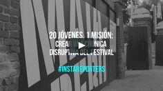 Resumen del taller #Instareporters en el FESTeen; los jóvenes relataron la marcha del festival a través de la publicación de breves textos e… Company Logo, Logos, Texts, Summary, Atelier, Logo
