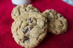 Peanut Butter Oatmeal Chocolate Chip Cookies - 365 Days of Baking