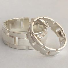 I make an extensive Range of Wedding Rings, from the very Plain to the Not Pl...