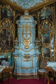 home decor Schloss Leopoldskron, Salzburg - The Londoner Victorian Home Decor, Baroque Decor, Victorian Homes, Victorian Bedroom, Residence Architecture, Interior Architecture, French Rococo, Rococo Style, Palace Interior
