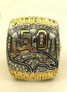 ReShop Store now has Denver Broncos Su... - http://www.reshopstore.com/products/size-6-to-14-2016-new-arrival-2015-denver-broncos-super-bowl-50-championship-ring-replica-offical-edition-miller?utm_campaign=social_autopilot&utm_source=pin&utm_medium=pin