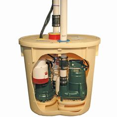 Sump Pump Backup System Is The Only Way To Go Because Systems Fail Shown Here