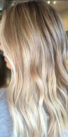 hair goals - sunkissed bronde highlights
