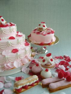 Marie Antoinette Foods in 1-4 by ~Snowfern on deviantART