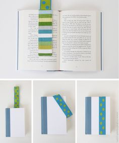The 'STAY PUT' Elastic Bookmark....{never lose your place again!} | Make It and Love It