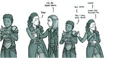 Lexa is just a confused teenager
