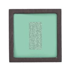 Mint Green with faux glitter Premium Gift Boxes
