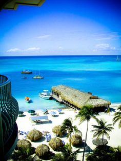 RUI Palace Aruba - Beach & Pier View.I want to go see this place one day. Please check out my website Thanks.  www.photopix.co.nz