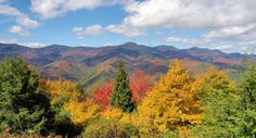 Fall is a beautiful season to discover all the wonderful hiking trails in Western North Carolina to experience the exploding leaf colors!  Here is a great website to clue you in to all the fabulous trails to explore.  Enjoy!  (Romantic Asheville photo taken October 18, 2016 looking toward Mt Mitchell from an overlook along the Blue Ridge Parkway.)  http://www.hikewnc.info/