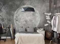 Kup fototapetę  Moon : Style Story - sklep internetowy WonderWall ☎ +48 534-363-730, Kraków. Najpiękniejsze foto tapety - darmowa dostawa