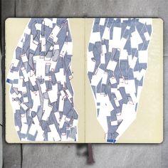 Plots(sketch)_Moleskine (Ink and paper), 2014_Mariasun Salgado
