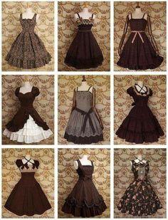 Dress inspirations for Hanifa Pretty Outfits, Pretty Dresses, Beautiful Dresses, Cool Outfits, Kawaii Fashion, Lolita Fashion, Cute Fashion, Old Fashion Dresses, Fashion Outfits