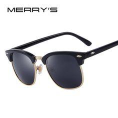 d96fe7cf53 Men S Retro Rivet Polarized Sunglasses