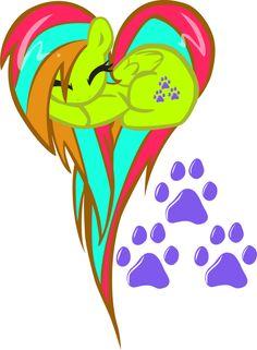 Bonus! Emeowrald OC Heart Pony! by pyrestriker on DeviantArt