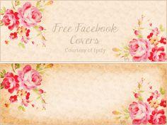 Free Vintage Rose Facebook Timeline Covers