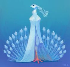 White Peacock by zgul-osr1113 on DeviantArt