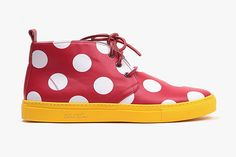 DEL TORO X DISNEY MINNIE MOUSE LIMITED EDITION ALTO CHUKKA SNEAKER