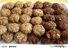 Pohankové sušenky bez lepku, mléka a vajec recept - TopRecepty.cz Raw Vegan, Vegan Vegetarian, Healthy Treats, Diy Food, Oreo, Healthy Lifestyle, Smoothies, Bakery, Food And Drink
