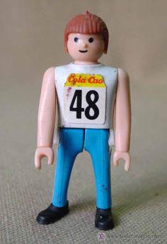 Muñecos de Cola Cao.  Olimpiadas de Los Angeles (1984)