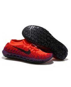 59c094eb5dafc Nike Free 3.0 Flyknit Womens UK Sale Red Purple Black