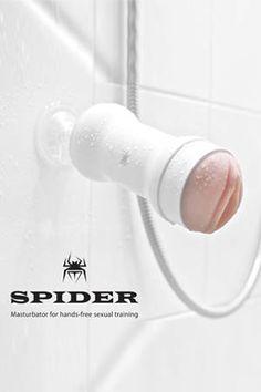 Мастурбатор Spider Backside анус hands free белый SP987-02 - купить за 4 883 р - Pelotkashop.ru #сексшоп #маструбатор #sexshop #pelotkashop