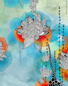 Illustrations by Iveta Abolina, via Behance