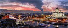 Москва. Панорама с Дома на Набережной - Планета Тайны и Красоты