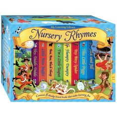 My Learning Library Nursery Rhymes Toys Uk, Buy Toys, Toys Shop, Kids Toys Online, Puzzle Books, Games To Buy, Jack And Jill, Nursery Rhymes, Puzzles