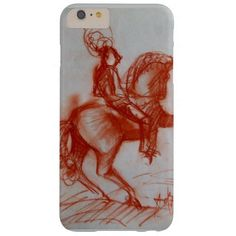 FLORENTINE  KNIGHT ON HORSEBACK BARELY THERE iPhone 6 PLUS CASE