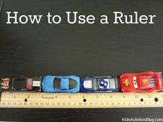 How to Use a Ruler: Teach your child how to correctly use a ruler.