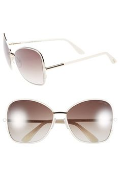 Tom Ford 'Solange' 61mm Sunglasses available at #Nordstrom
