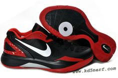 quality design 5b785 b6350 2011 Nike Zoom Hyperdunk Low Shoes Black White Sport Red Nike Kd Shoes, Nike  Shoes