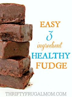 3 Ingrediant Fudge