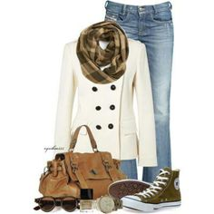 """A """"walking around the city in October"""" outfit :)"""