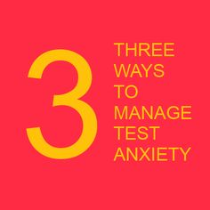 Three ways to manage test anxiety (for social workers and others): http://lcsw.blogspot.com/2014/09/3-tips-to-managing-lcsw-exam-anxiety.html